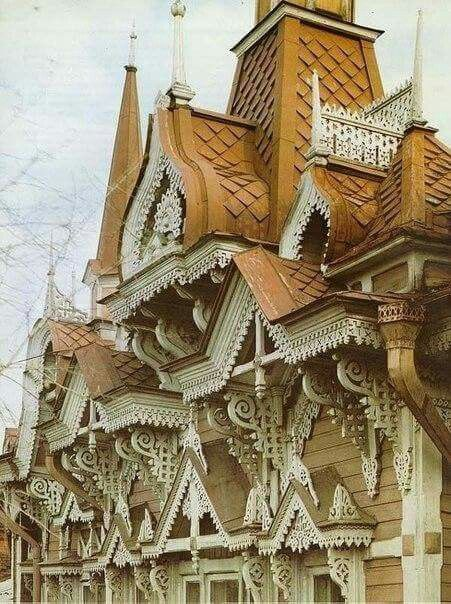 Russian style in architecture.