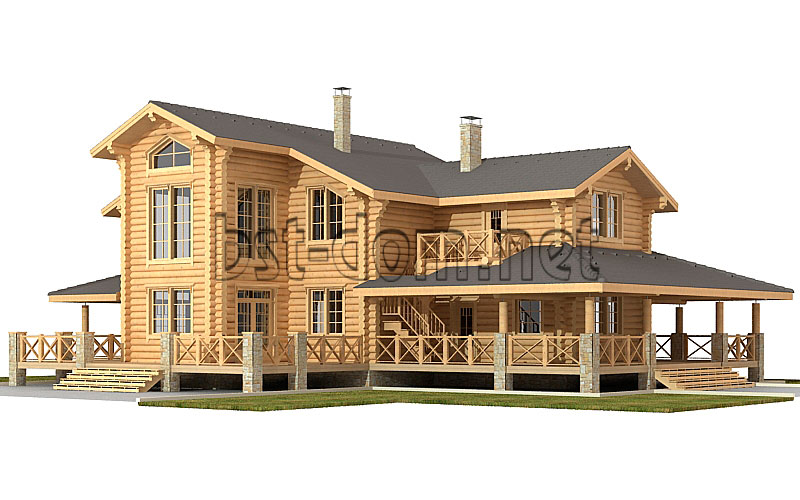 Log house projects