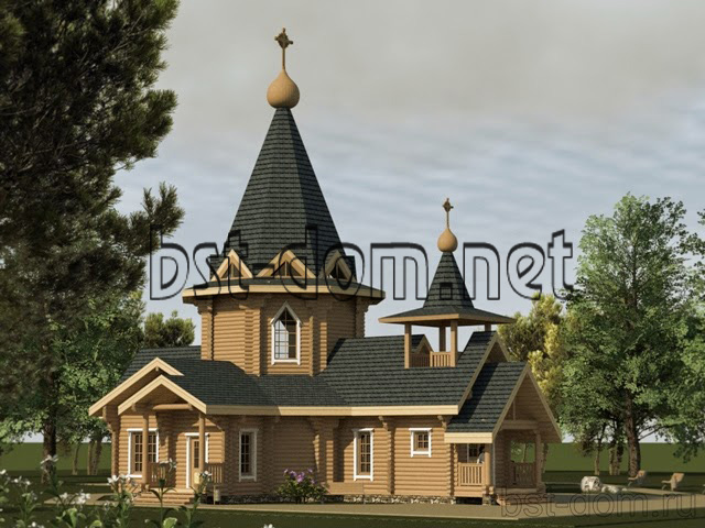 Construction of wooden churches